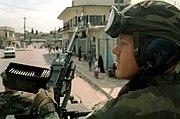 Marine M240E1 Machine Gun