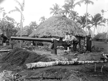 Marines naval gun samoa