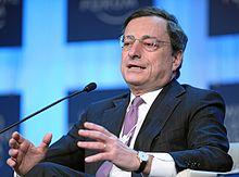 Mario Draghi al Forum Economico Mondiale nel 2012