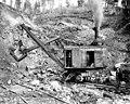 Marion shovel at work in limestone quarry, probably Washington, ca 1911 (INDOCC 364).jpg