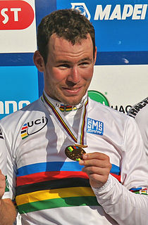 Mark Cavendish werd in 2011 wereldkampioen.