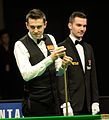 Mark Selby and Marcel Eckardt at Snooker German Masters (DerHexer) 2015-02-04 04.jpg