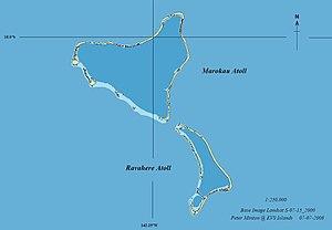 Marokau - Image: Marokau Atoll