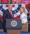 Marsha Blackburn and Donald Trump waving at Nashville Rally 2.png