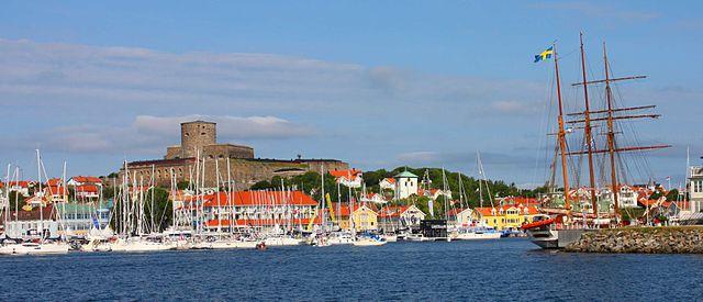 Marstrand vom Schiff