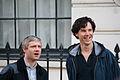 Martin Freeman + Benedict Cumberbatch.JPG