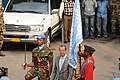 Martin Kobler, new SRSG in the D.R. Congo, arrives at MONUSCO HQ in Kinshasa to assume his duties, 13 August 2013. (9501218815).jpg