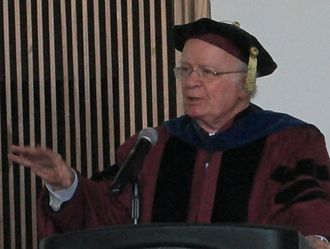Martin E. Marty - Marty speaking at Shimer College, May 2013