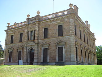 Picnic at Hanging Rock (film) - Martindale Hall (located near Mintaro in South Australia), was the location for Appleyard Hall, the school featured in the film.