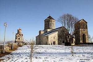 Martvili Monastery - The Martvili monastic complex.