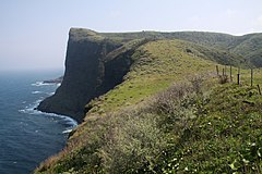 Matengai Cliff at Kuniga coast, Nishinoshima.jpg