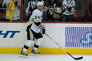 Matt Cooke of the Pittsburgh Penguins.