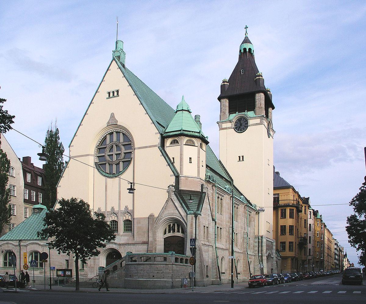 Sankt Matteus kyrka, Stockholm – Wikipedia