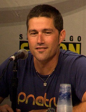 Matthew Fox at the 2008 Lost Comic Panel.