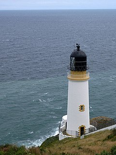 Maughold Head Lighthouse lighthouse on the Isle of Man