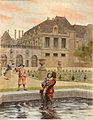 Maurice Leloir-Le Roy Soleil - Le bassin du palais royal.jpg