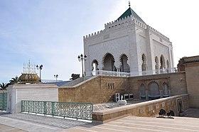 Entrée principale du Mausolée Mohammed V