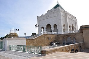 Mausoleum of Mohammed V - The Mausoleum