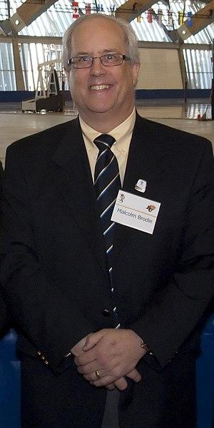Malcolm Brodie (politician) - Image: Mayor Malcolm Brodie (Feb. 2009)