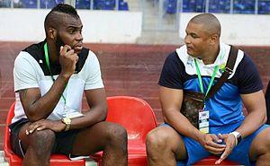 Gilles Mbang Ondo - Gilles Mbang Ondo and Daniel Cousin - Gabon