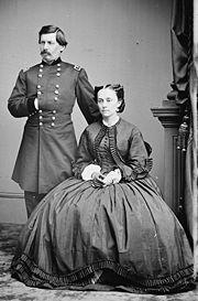 George B. McClellan and Ellen Mary Marcy McClellan