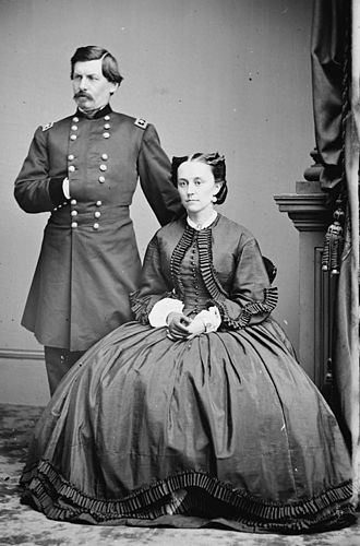 George B. McClellan - George B. McClellan and Mary Ellen Marcy (Nelly) McClellan