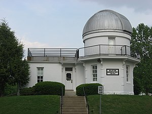 McKim Observatory - Front of the observatory