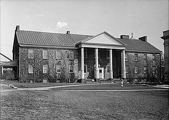 McMillan Hall - Photograph from the Historic American Buildings Survey in 1934