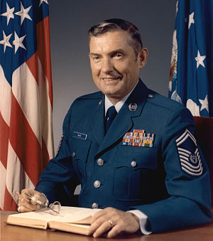 James M. McCoy - 6th Chief Master Sergeant of the Air Force (1979-1981)