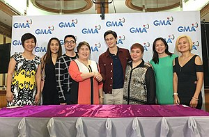 Ivan Dorschner - Dorschner after signing contract with GMA Network, November 2016