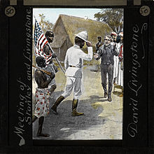 Henry Morton Stanley Meets David Livingstone  Dr Livingstone I Presume Book