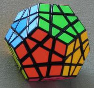 Megaminx - The 6-color Megaminx in solved state
