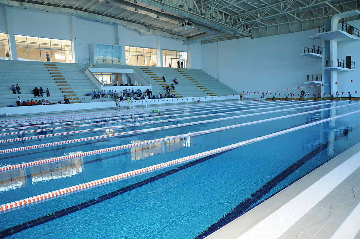 Swimming pool indoor  Mehmet Akif Ersoy Indoor Swimming Pool - Wikipedia