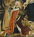 Meister des Bartholomäus-Altars — Anbetung der Könige (Detail König Mitte).jpg