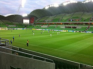 Melbourne Rectangular Stadium - AAMI Park interior