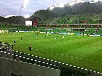 Melbourne Rectangular Stadium - AAMI Park interior