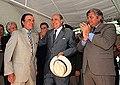Menem y Sanguinetti inauguran obras de dragado en Martín García.jpg