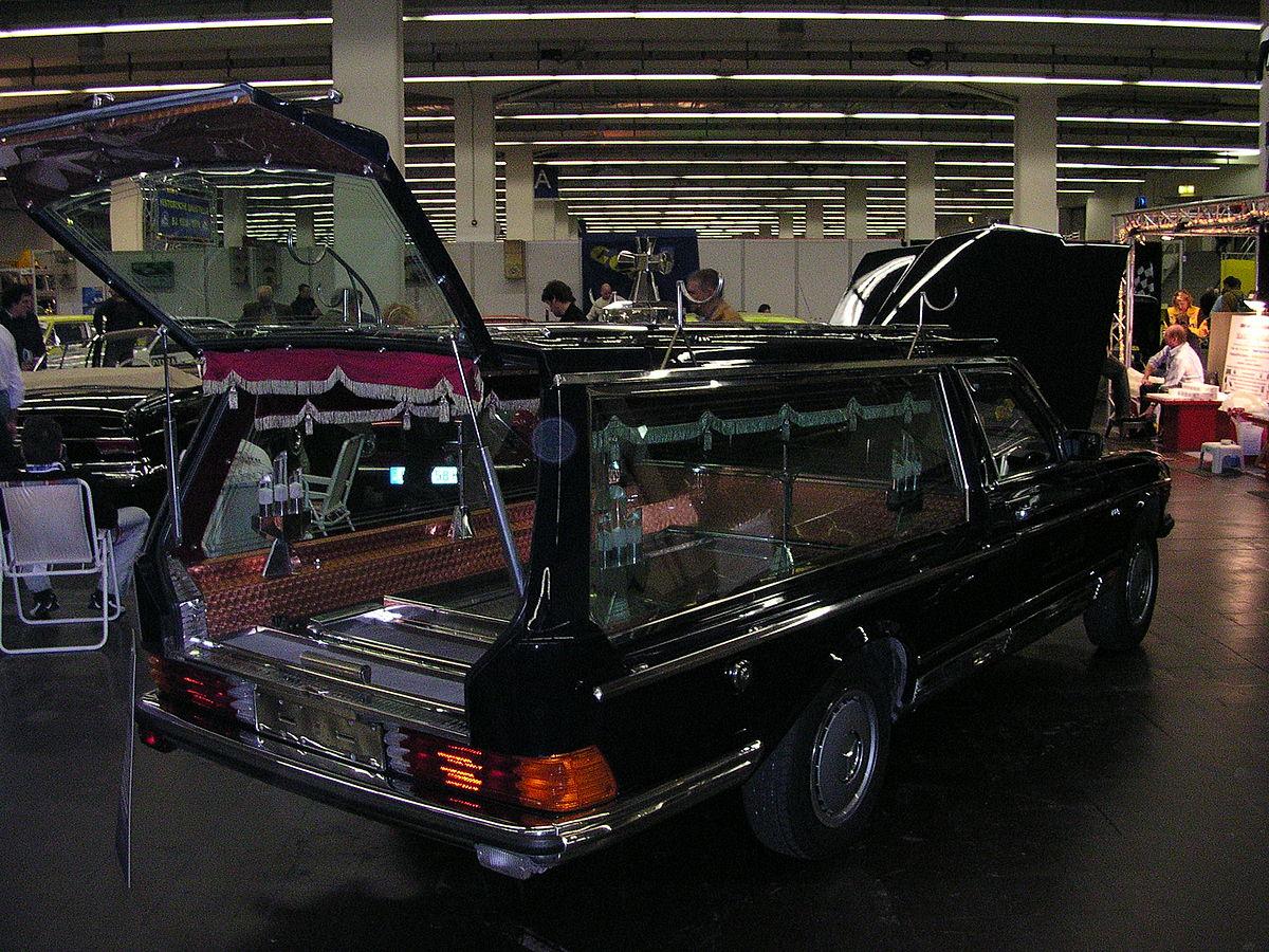 Leichenwagen Englisch