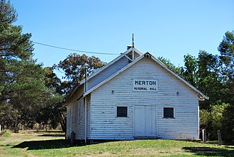 Merton, Victoria - Memorial hall