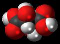 Mesotartaric acid 3D spacefill.png