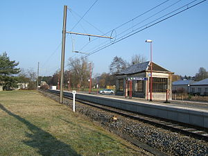 Messancy - Image: Messancy station