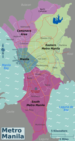 Metro Manila – Travel guide at Wikivoyage