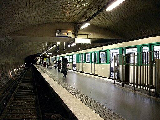 Metro de Paris - Ligne 2 - Porte Dauphine 05