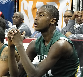 Michael Kidd-Gilchrist - Kidd-Gilchrist during a game in February 2010