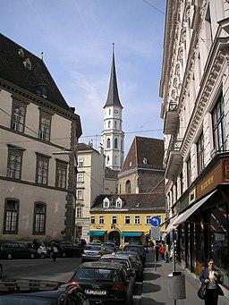 Michaelerkirche Vienna Sept 2006