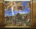 Michelangelo, conversione di saulo, 1542-45, 02.jpg