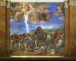 Michelangelo: The Conversion of Saul