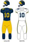 Michigan wolverines football uniforms.png