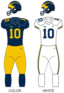 Michigan wolverines football uniforms.png