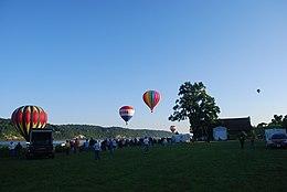 2009 Mid-Hudson balon festiwal